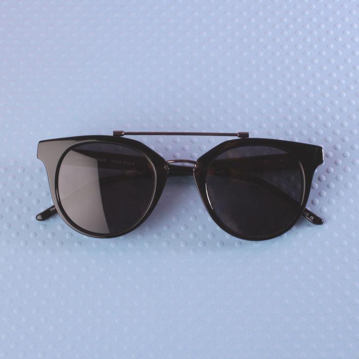KAIBOSH | BIBLIO REMIX sunglasses in SOLID BLACK