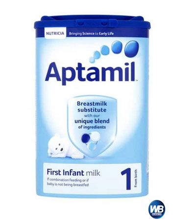 Aptamil 1 First Infant Milk (From Birth),Walibazar.com is a online bazar where you can easily shopping all daily necessary goods from your home or office.