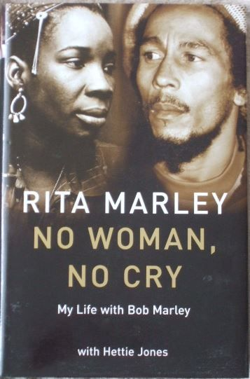 No Woman No Cry by Rita Marley. A unique, intimate biography of Bob Marley by the person who knew him best. Bob Marley is the unchallenged king of reggae and one of music's great iconic figures. Rita Marley was not just his wife and the mother of four of his children but his backing singer and friend, life-long companion and soul mate. They met in Trenchtown when they were teenagers, and she was very much part of his musical career, and stayed with him until his death at the age of 35.