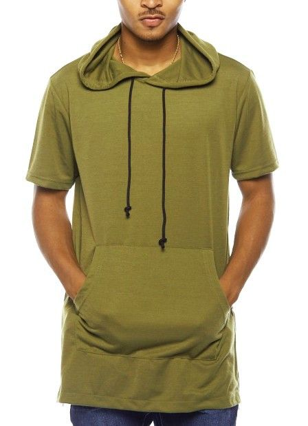Kayden K - Short Sleeve Hoodie