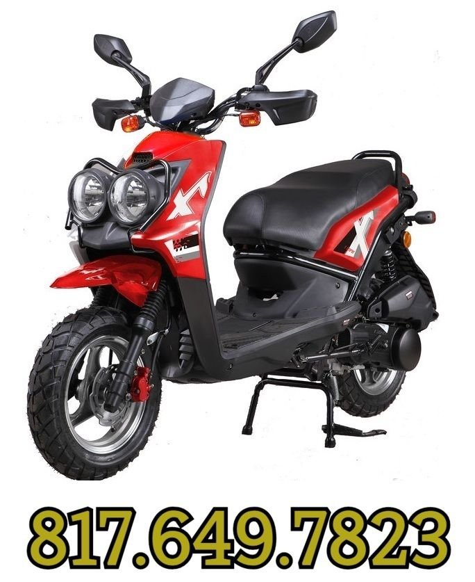 vitacci ZUMA 50CC Scooter, 49 9cc CVT, Electric/Kick | SCOOTERS