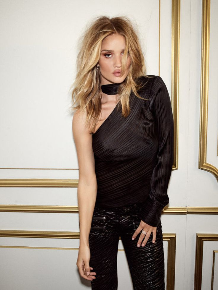 Роузи Хантингтон-Уайтли за нас составила базовый осенний гардероб | Журнал Harper's Bazaar