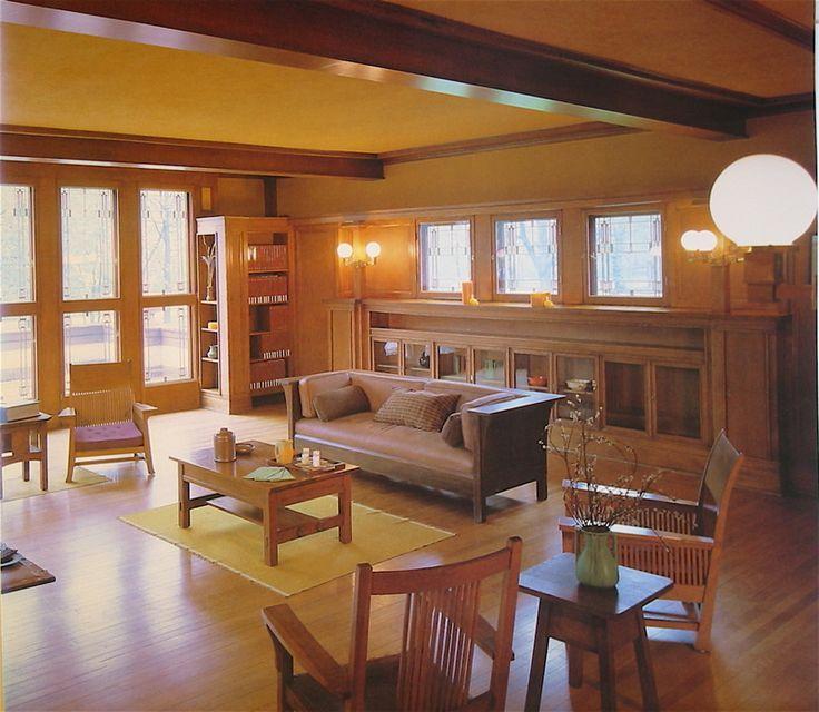 Ward W Willits House 1901 Highland Park Illinois Prairie Style Frank Lloyd Wright