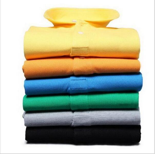 2016 summer new casual men lapel Paul Slim POLO shirt solid color elegant French men's POLO shirt brand clothing WZ169#polo shirts