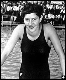 Dawn Fraser: b. 1937; Dawn Fraser is an Australian champion swimmer and politician. She is one of only three swimmers to win the same Olympic event three times – in her case the 100 metres freestyle. Within Australia, she is known for her controversial behavior and larrikin character as much as for her athletic ability.