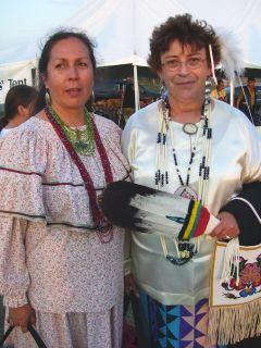 Potawatomi Women (photo taken by Eddie Mitchell)