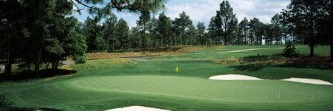 Golf Course, Pine Needles Golf Course, Southern Pines, Moore County, North Carolina, USA Photographic Print by Panoramic Images at AllPosters.com