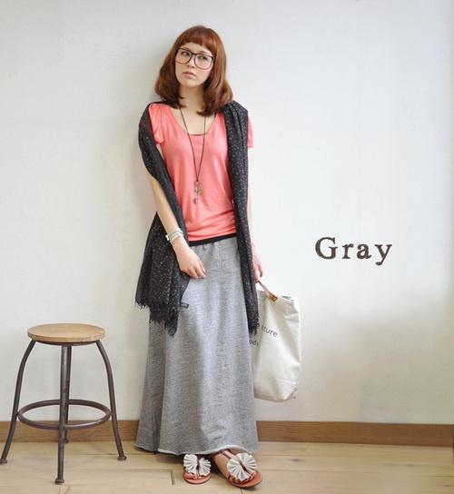 comfortable long skirt