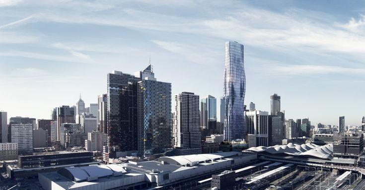In Melbourne entsteht ein kurviger Wolkenkratzer, der sich am Körper von Beyoncé inspiriert