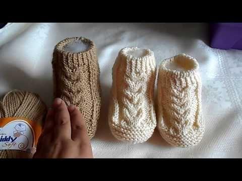 Chambrita en dos agujas / chompa / suéter / saco de 3  a 6 meses paso a paso parte 1 de 3 - YouTube