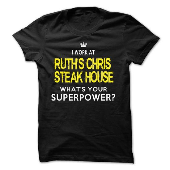 I Work At Ruths Chris Steak House T Shirts, Hoodies. Check price ==► https://www.sunfrog.com/LifeStyle/I-Work-At-Ruths-Chris-Steak-House.html?41382 $21