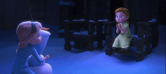 Porque nadie sabe hacerlo con tanta calidez como Olaf de Frozen: Una Aventura Congelada.