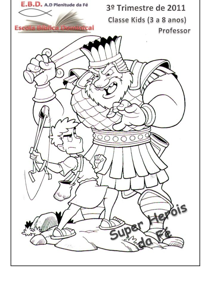 17 Best David And Goliath Story For Kids Images On
