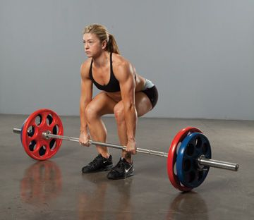 CrossFit Olympic Lifting tips. Also walks you through the Burgener warmup which is great :)