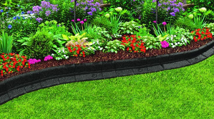 Landscaping Borders Menards : Create a gorgeous garden with rubber premium landscape edging