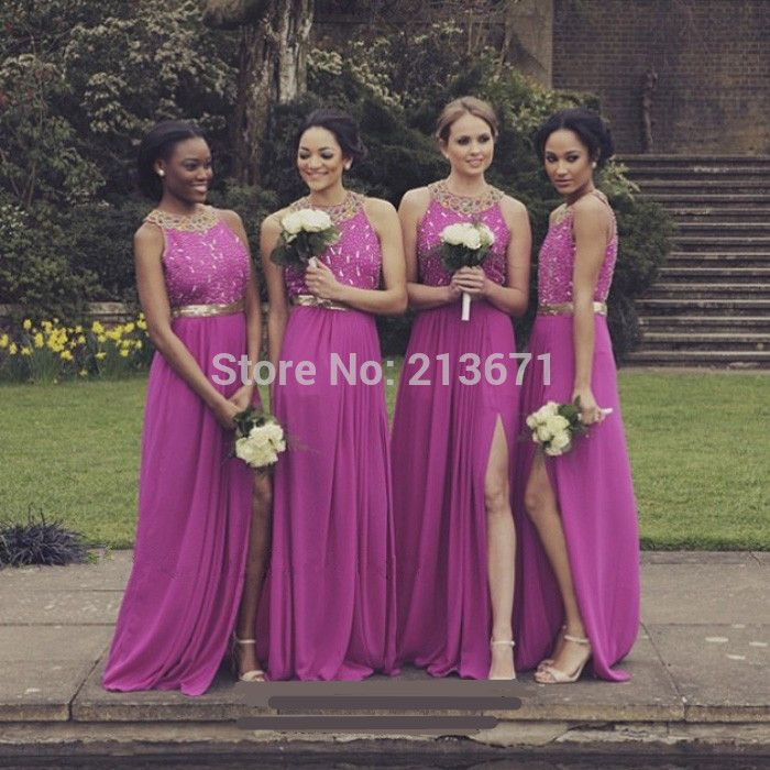 Desiree Hartsock\'s beautiful bridesmaids in Berry Bouquet // Donna ...