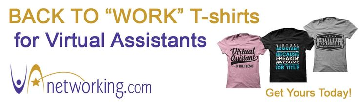 T-Shirts for Virtual Assistants. #VirtualAssistant