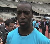 Michael Johnson - number one all time favourite athlete!