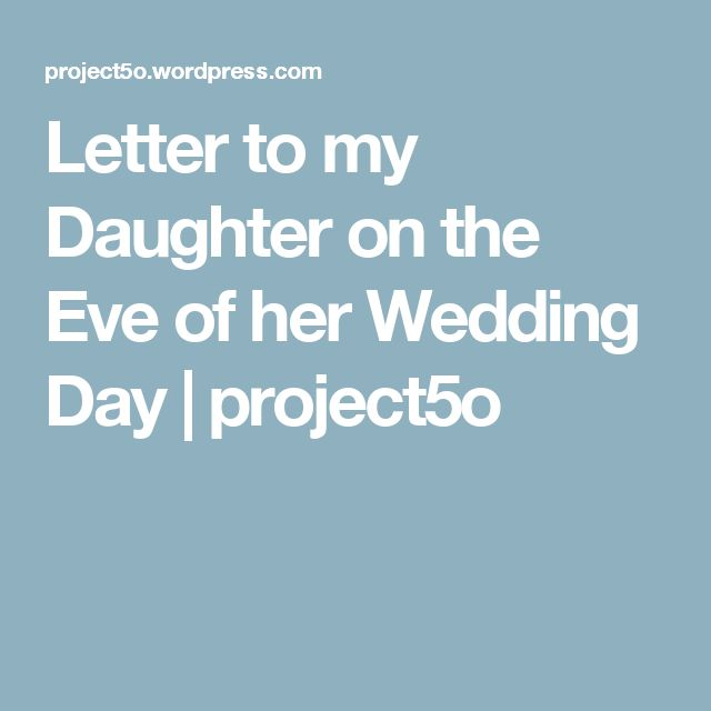 Help writing a letter to my daughter