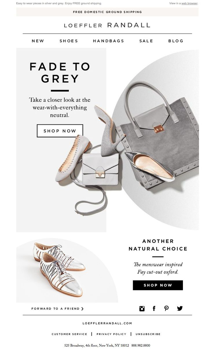 #newsletter Loeffler Randall 10.2014 In The Shade