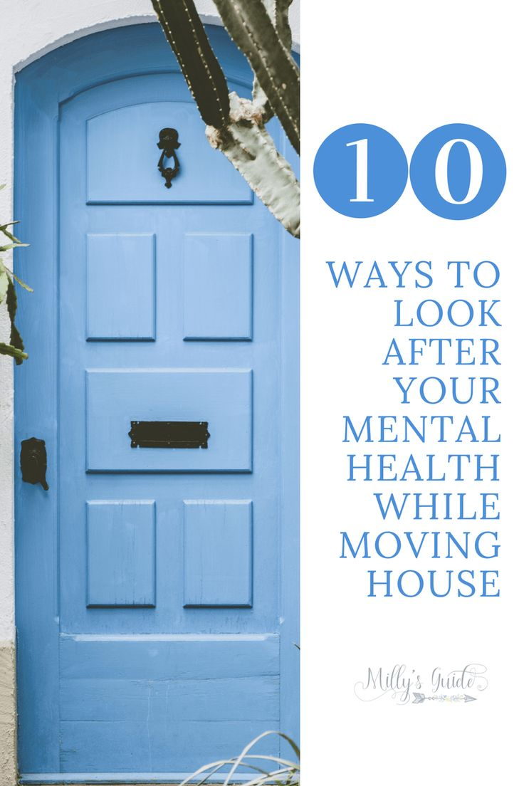 How to look after your mental health when moving house
