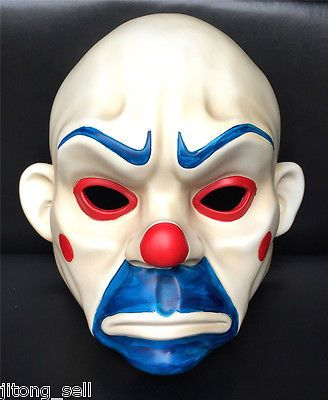 Joker bank robber mask #clown batman dark knight #cosplay #halloween costume…