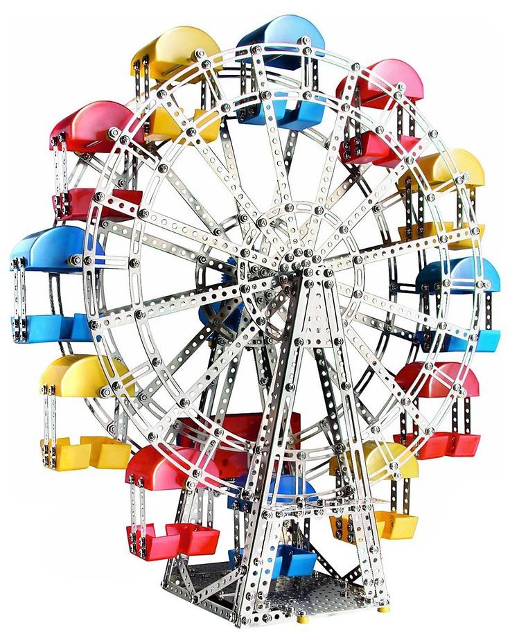 Eitech Classic Ferris Wheel Construction Set (1200 pcs)