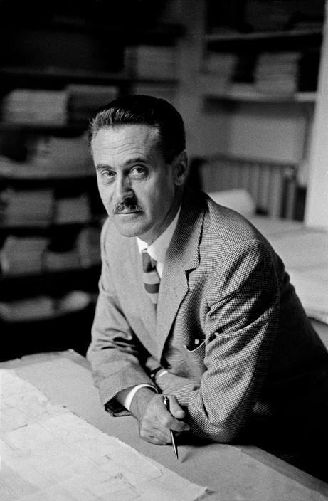 Franco Albini (October 17, 1905 – November 1, 1977) was an Italian Neo-Rationalist architect and designer.