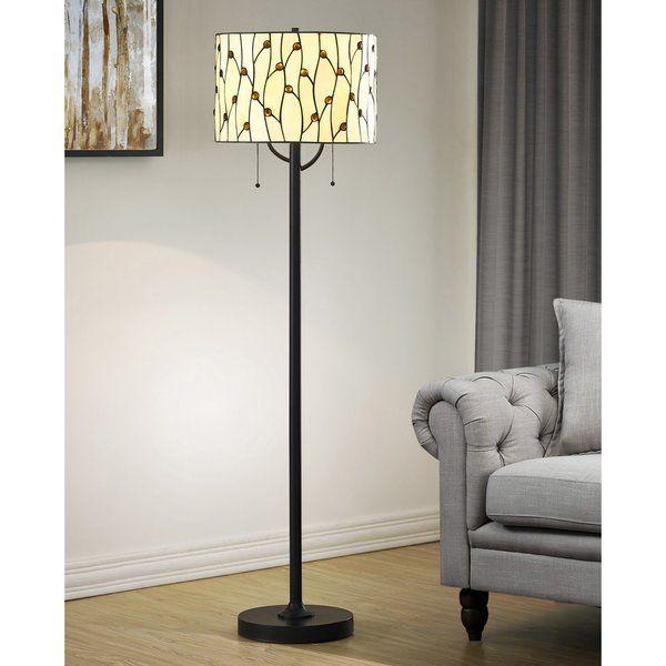 Kenyatta Tiffany 61 Floor Lamp Tiffany Floor Lamp Tiffany Style Floor Lamps Contemporary Floor Lamps