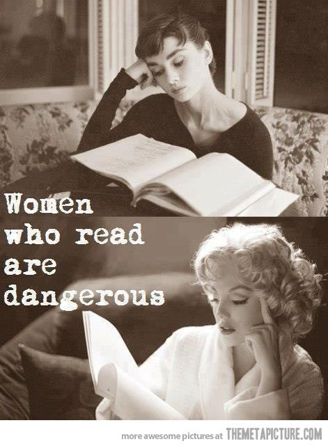 Women who read... - The Meta Picture<<< Oh my goodness. These women are like totally my idols!