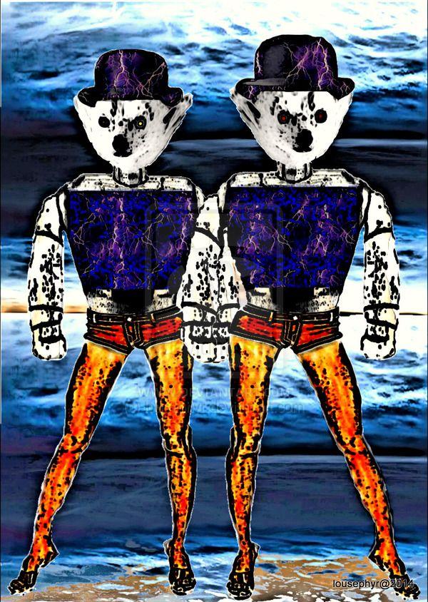 PolarBots Blending in since Ages Ago by lousephyr on deviantART