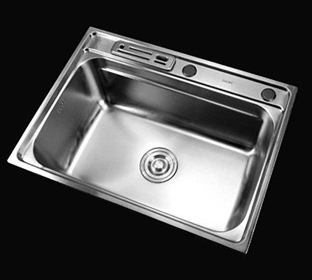 Itas9912 Stainless Steel Sink Basin 304 Stainless Steel Dish Wash Basin Single Bowl Kitchen S Single Bowl Kitchen Sink Kitchen Sink Sizes Stainless Steel Sinks