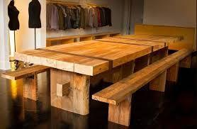 Risultati immagini per tavoli da giardino in legno fai da te