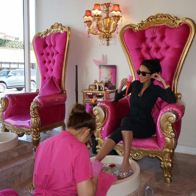 Pedicure Chair Ideas find this pin and more on nails salon ideas pedicure Pinterest Xprincessnanix More Spa Pedicure Chairspink
