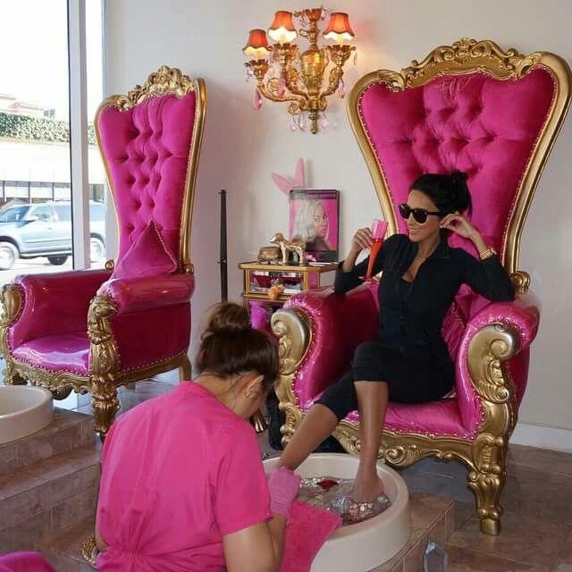 Pedicure Chairs Int 233 Rieur De Salon De Coiffure D 233 Cor Du