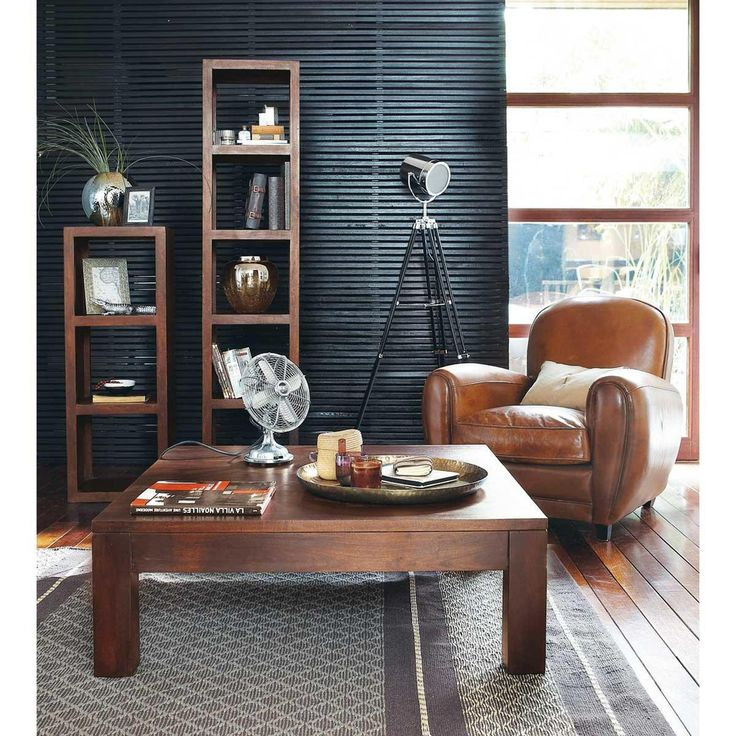 17 best ideas about fauteuil club cuir on pinterest fauteuil marron fauteu - Fauteuil club maison du monde ...