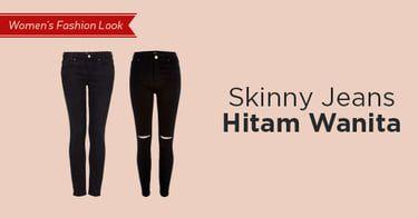 Skinny Jeans Hitam Wanita