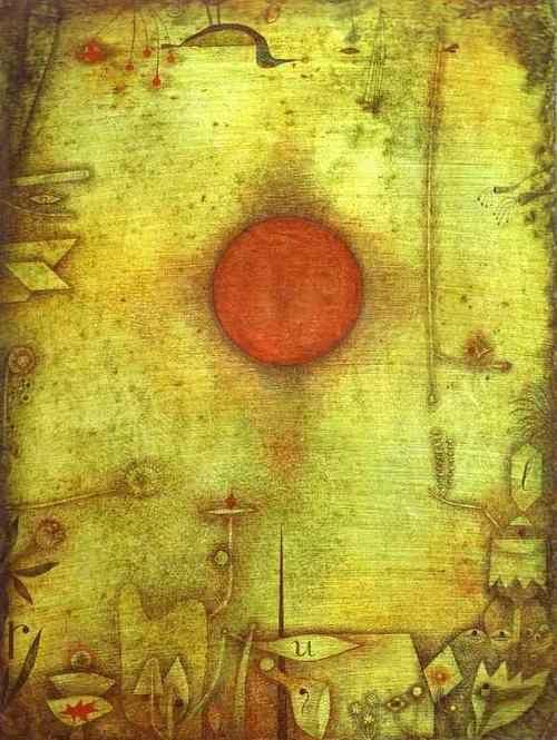 Paul Klee..love the simplicity in his work