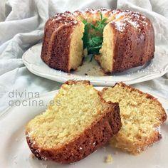 Bizcocho de coco » Divina CocinaRecetas fáciles, cocina andaluza y del mundo. » Divina Cocina