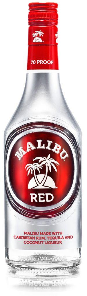 Mailbu Red..... Malibu Coconut Rum & Tequila Fusion...... 3 drink recipes