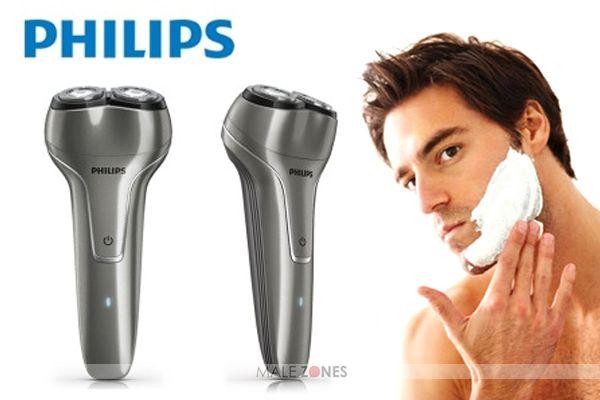 Philips Electric Shaver PQ225 Anti Selip dilengkapi USB Charging