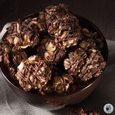 Σοκολατάκια γάλακτος με φουντούκια