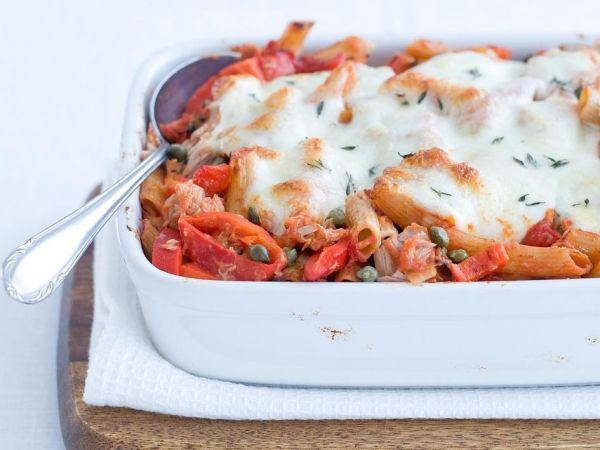 Pastaschotel met tonijn - Italiaans | Weekmenu
