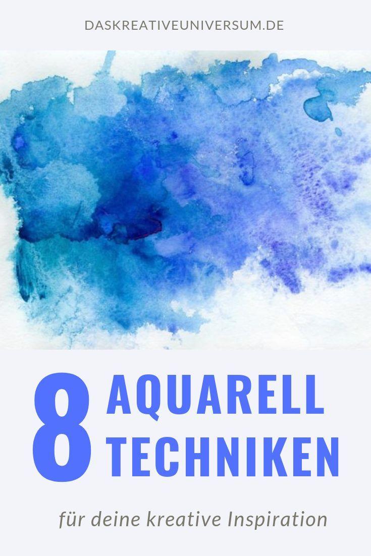 8 Aquarell Techniken Fur Bessere Ergebnisse In Dieser Aquarell