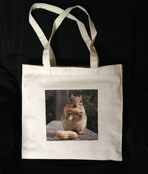 Small Canvas Tote Bag personalized by KaEPhotography on Etsy. A great gift for those who have everything!  Great for carrying many things.