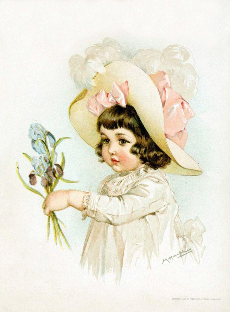 Днем рождения, ретро дети картинки
