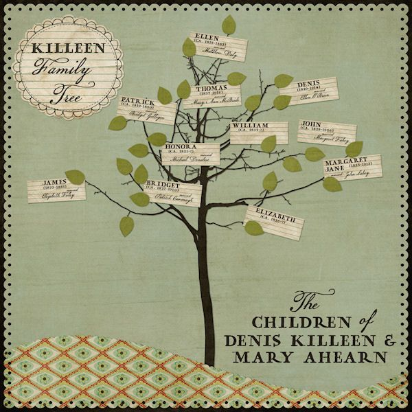 16 Best Family Tree Scrapbook Images On Pinterest Family Tree