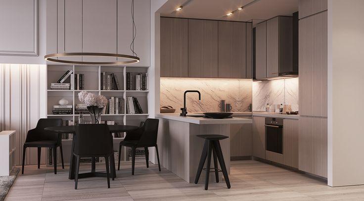 «Apartments in Dubai» on Behance
