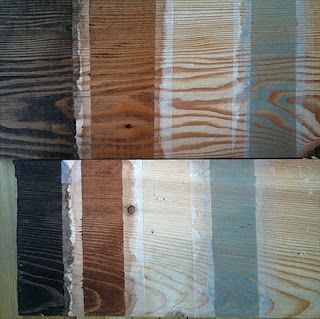 Sampling Of Several Wood Wax Finishes From Osmo Onto