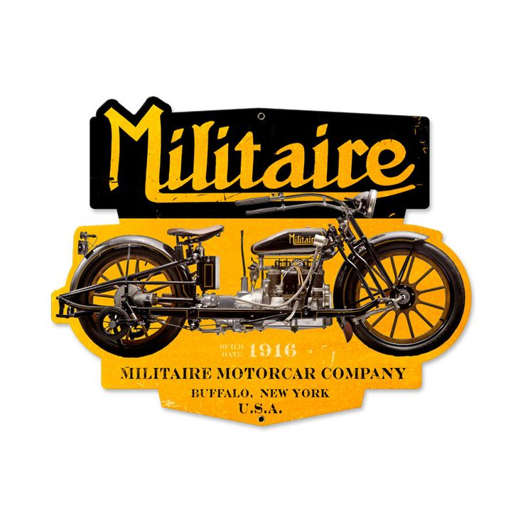 """The 4 cylinder MILITAIRE was produced from 1913 until 1917 by the Militaire Auto Company of Buffalo New York. Its four cylinder ( inlet over exhaust) 68 cu. in. engine produce some 11.5 H.P. It has some very unusual features, such as wooden artillery wheels with 28 inch x 3 clincher tires, a curved front axel on which the front bearing slid in order to make a turn, a car like three-speed """"on the floor"""" type stick shift plus reverse"""